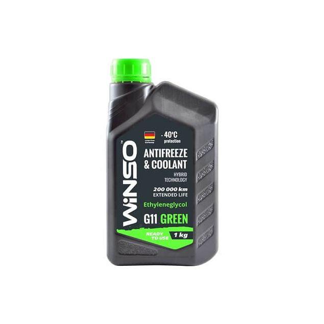 Антифриз Winso Green G11 -40 1 кг Зеленый - 1