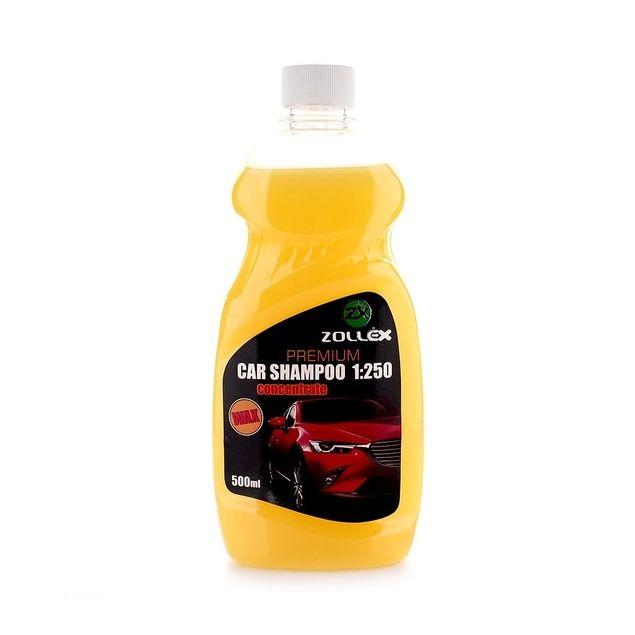 Автошампунь-концентрат с воском Zollex Premium 500мл - 1
