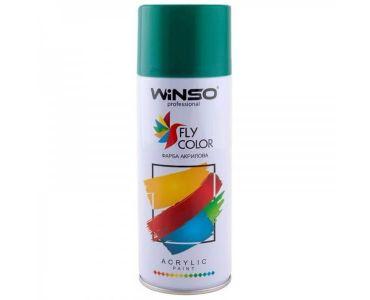 Краска для авто - Краска Winso Spray зеленая OPAL GREEN RAL6026 880190 450мл - КРАСКА ДЛЯ АВТО