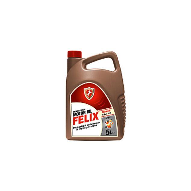 Масло моторное Felix Mineral SAE 15W-40 API SF/CC 5л - 1