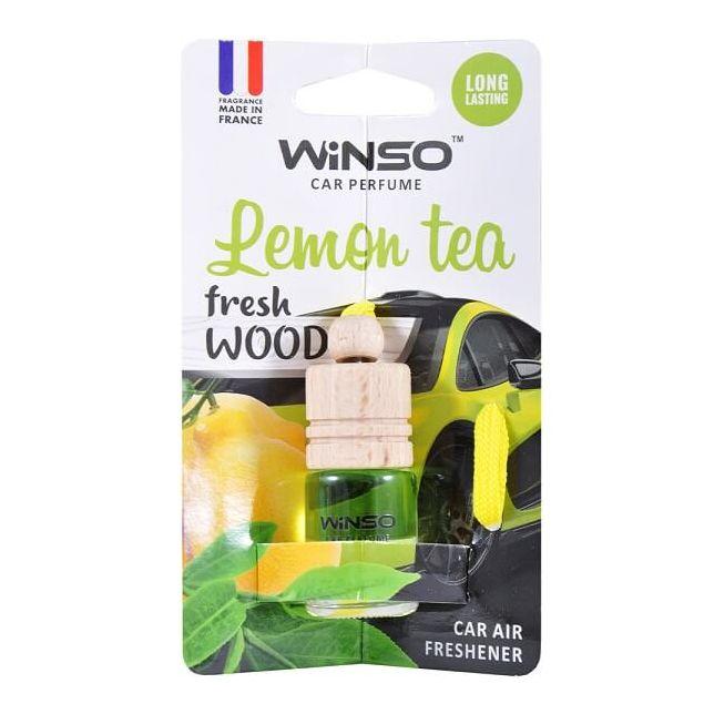 Ароматизатор Winso Fresh WOOD Lemon Tea 530670 - 1