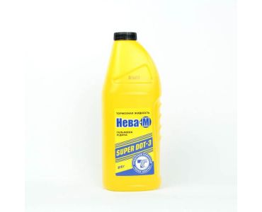 Тормозная жидкость в Днепре - Тормозная жидкость Нева-М желтая 0,5л
