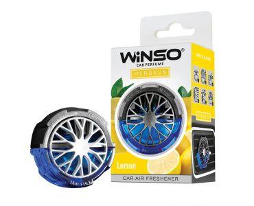 Ароматизатор в машину - Ароматизатор WINSO Merssus на дефлектор Lemon 534460