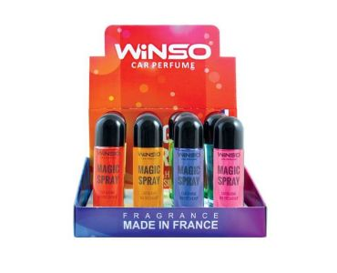 Ароматизатор в машину - Набор ароматизаторов WINSO серия MAGIC Spray MIX 3 500033 -