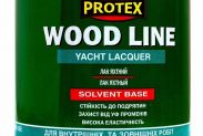 Лак полиуретановый паркетный PROTEX WOOD LINE полуматовый (0,7л) - 1