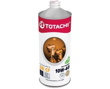 Автомасла - Масло моторное TOTACHI Eco Gasoline 10W-40 1л - Автомасла