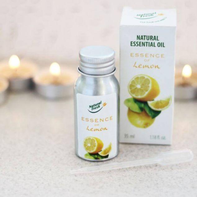 Эфирное масло ESSENCE Natural Essential Oil Lemon - 1