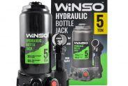 Домкрат гидравлический бутылочный WINSO 5т 175000 185-355мм - 1