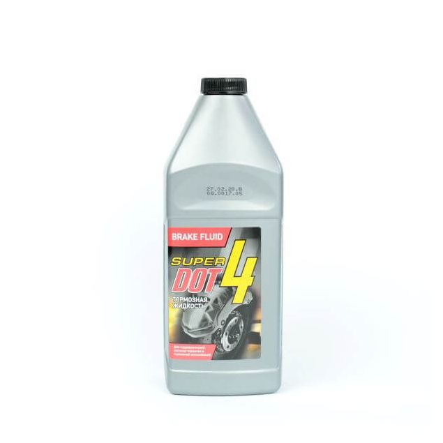Тормозная жидкость Супер Дот-4 880гр - 1