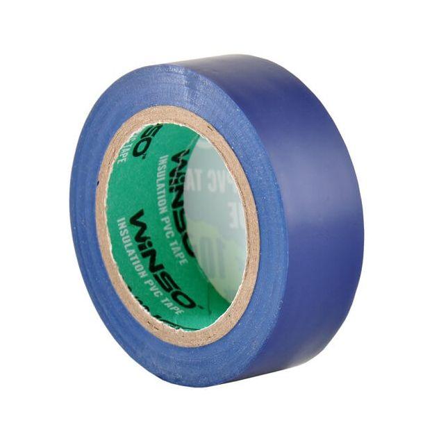Изолента Winso ПВХ синяя 10 м (153100) - 3