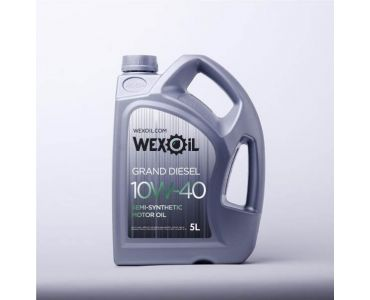 Автомасла - Масло моторное Wexoil Grand Diesel 10W-40 5л - Автомасла