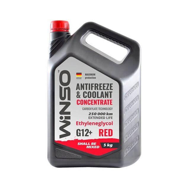 Антифриз-концентрат Winso G 12+ 5 кг Red - 1