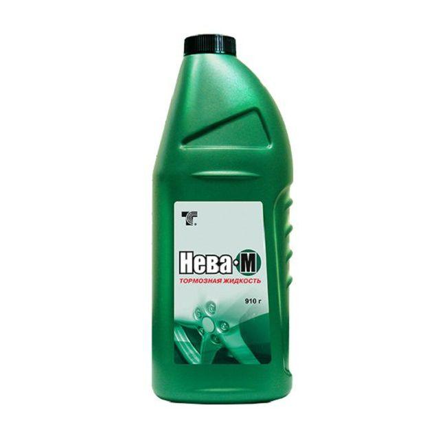 Тормозная жидкость Нева-М зеленая 0,5л - 1