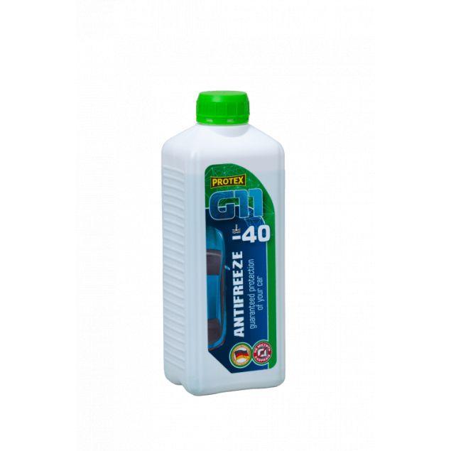 Антифриз зеленый -40 PROTEX G11 1 кг - 1