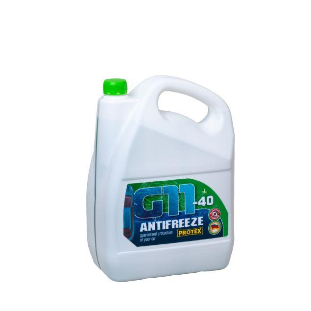 Антифриз зеленый -40 PROTEX G11 4.6 кг - 1