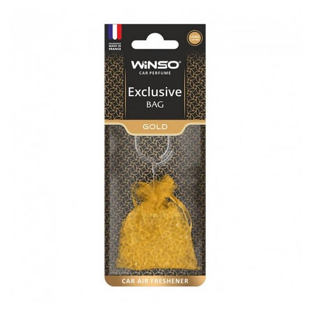 Ароматизатор WINSO AIR BAG Exclusive Gold - 1