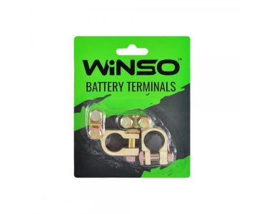 Клеми акумуляторні АКБ - Акумуляторні клеми Winso 146300 -