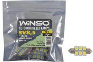 LED лампа Winso C5W 12V SMD5050 SV8.5 T11x36 127440 - 1
