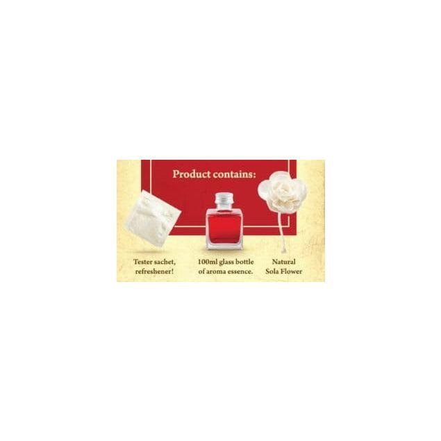 Аромадиффузор в форме розы Elix GB Red Rose - 3