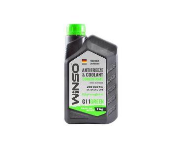 - Антифриз-концентрат Winso G11 1 кг Green -