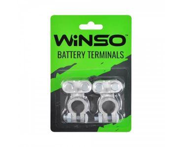 Клеми акумуляторні АКБ - Акумуляторні клеми Winso 146500 -