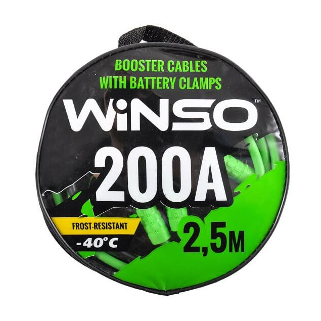 Провода прикуривания WINSO 200А 2.5м сумка 138210 - 1