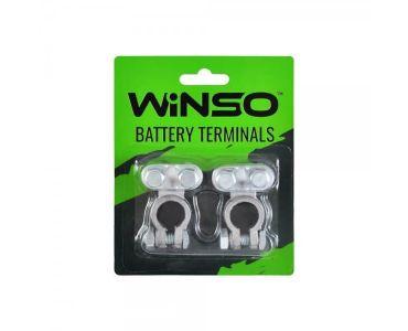 Клеми акумуляторні АКБ - Акумуляторні клеми Winso 146200 -
