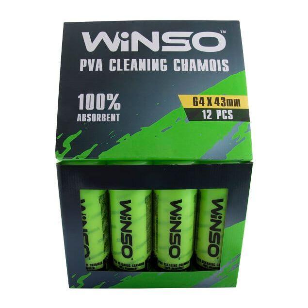 Салфетка PVA в тубе WINSO 64x43см (150500) - 3