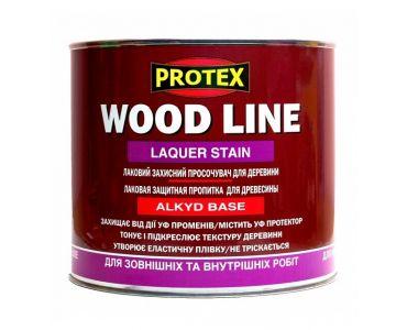 ЛАКИ И деревозащитные пропитки в Днепре - Лаковая защитная пропитка PROTEX для древесины WOOD LINE светлый орех