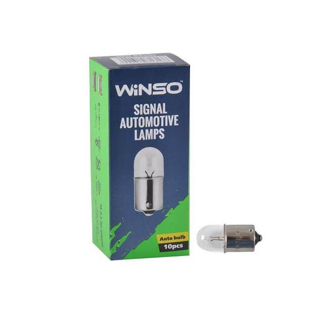 Лампа накаливания Winso R5W 5W 12V BA15s 713150 - 1