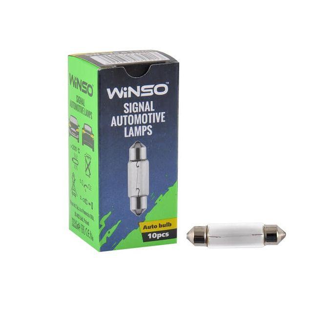 Лампа накаливания Winso C5W 5W 25V SV8.5 T11x41 725210 - 1