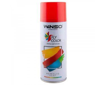 Краска для авто - Краска Winso Spray вишневая WINE RED RAL3005 880380 450мл - КРАСКА ДЛЯ АВТО