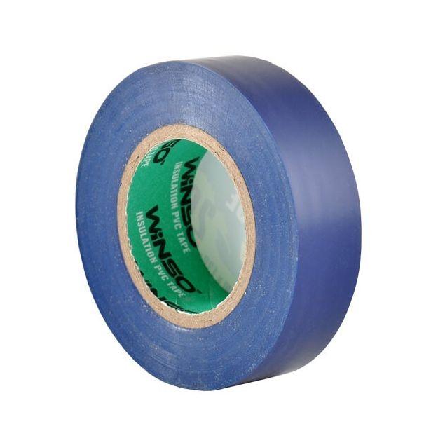 Изолента Winso ПВХ синяя 20 м 19 мм (153200) - 3