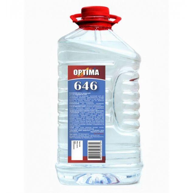 Растворитель 646 без прекурсоров ОPТІМА 4л - 1