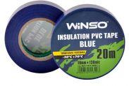 Изолента Winso ПВХ синяя 20 м 19 мм (153200) - 1