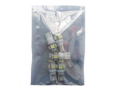 Нейтралізатор запаху домашніх - Zollex LED T10 SMD(2835+5050)x8 12V White (5шт) T1121 -