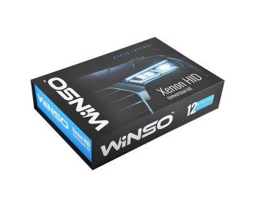 Комплекты ксенона в Днепре - Комплект ксенона WINSO H1 6000K 35W Slim Ballast (741600)