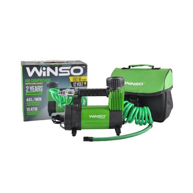 Автокомпрессор Winso 132000 180 Вт - 2