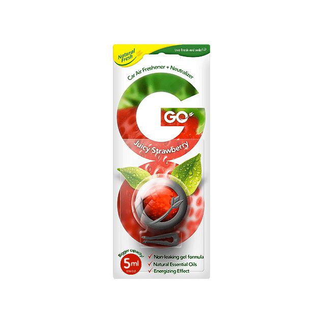 Ароматизатор Elix GO GEL Strawberry - 1