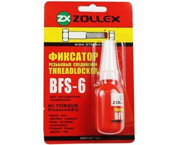 Герметики и клеи - Zollex Фиксатор резьбы красный 10г BFS-6