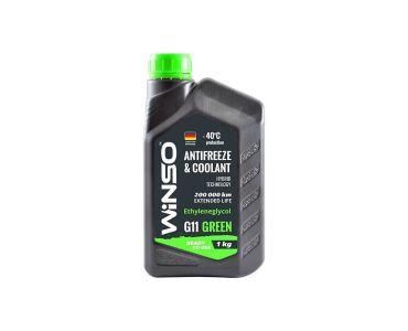Охлаждающие жидкости в Днепре - Антифриз Winso Green G11 -40 1 кг Зеленый