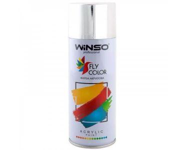 Краска для авто - Краска Winso Spray хром BRIGHT CHROME 880370 450мл - КРАСКА ДЛЯ АВТО