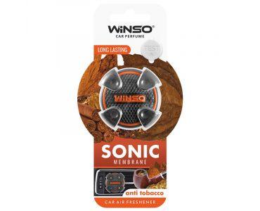 Ароматизатор в машину - Ароматизатор Winso Sonic на дефлектор Anti Tobacco 531150