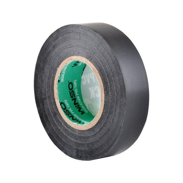 Изолента Winso ПВХ черная 30м /19 мм - 3
