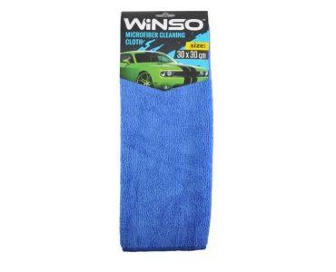 Автоаксессуары - Салфетка из микрофибры WINSO 30х30см, синяя (150100)