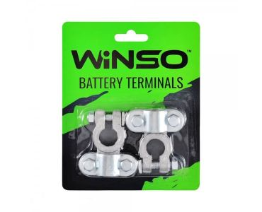 Клеми акумуляторні АКБ - Акумуляторні клеми Winso 146600 -