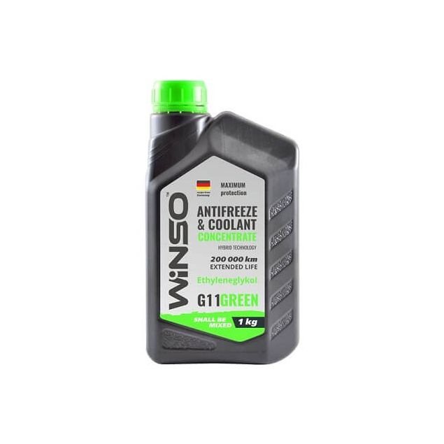 Антифриз-концентрат Winso G11 1 кг Green - 1