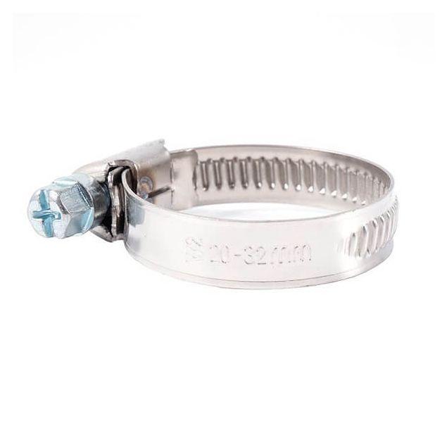 Вінсо Хомути металеві нерж. сталь 20-32,9 мм W2 (100шт.) - 1