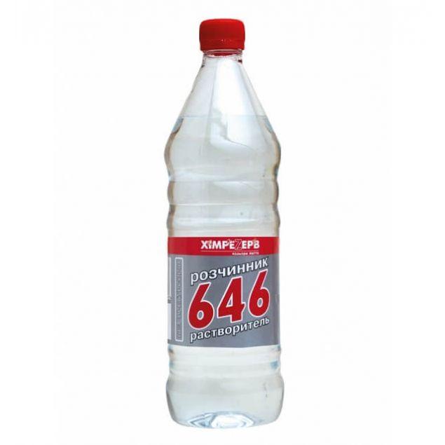 Растворитель 646 ХИМРЕЗЕРВ 1л (стекло) - 1