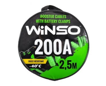 Прикуриватель, провода прикуриватели в Днепре - Провода прикуривания WINSO 200А 2.5м сумка 138210